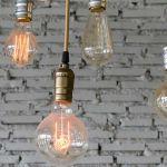 Array of lightbulbs
