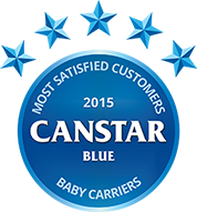 2015 Canstar Blue Baby Carriers award
