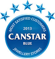 Winner of Jewellery Stores 2013 Customer Satisfaction Award