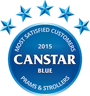 2015 Canstar Blue Prams and Strollers award