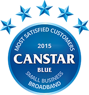 Small Business Broadband 2015 Award Logo