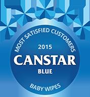 Baby Wipes 2015 Award logo
