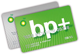 Green or Grey fuel card options from BP+.