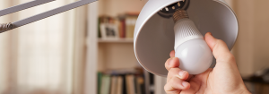 Switch on to more energy efficient light bulbs