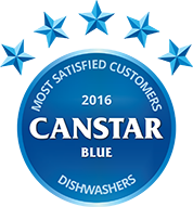 2016 Dishwasher award for most satisfied customers in 2016