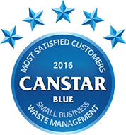 Award for Waste Management for Small Business in 2016