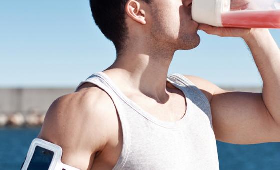 Man Shake weight loss shakes