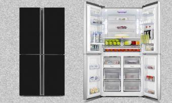 french door fridge hisense