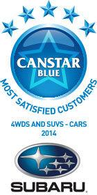 Subaru: 4WDS and SUVS Award Winner