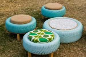 Tyre stools