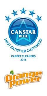 2016 Carpet Cleaner award winner - Orange Power