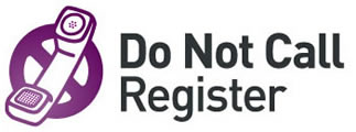 Do not call register logo