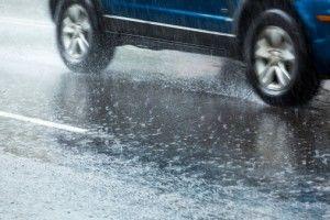 Driving wet