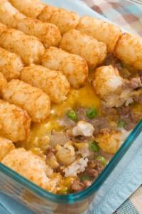 Hash brown & veggie casserole