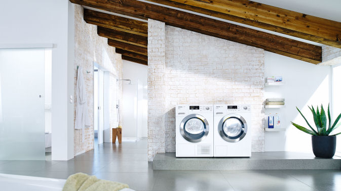 how to clean a miele front loader washing machine
