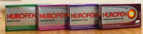 Nurofen Specific Pain products landscape