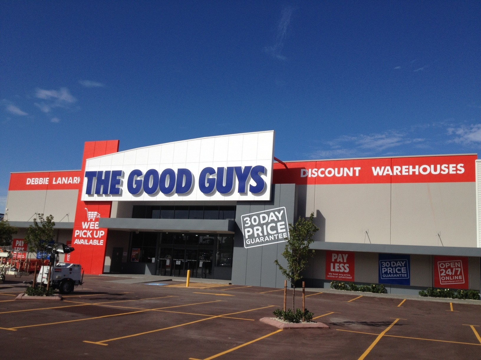 The Good Guys storefront
