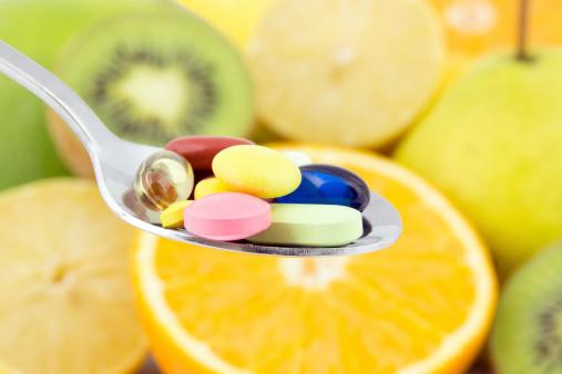 Fruit spoon pills