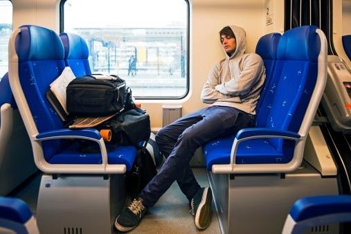 Pet peeve train rides