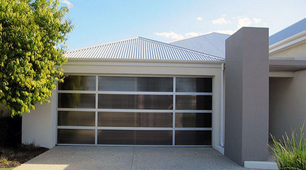alluminum framed garage door thumbnail