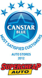 Most Satisfied Customers: Auto Stores - 2012