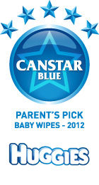 Parents Pick Award - Baby Wipes - 2012