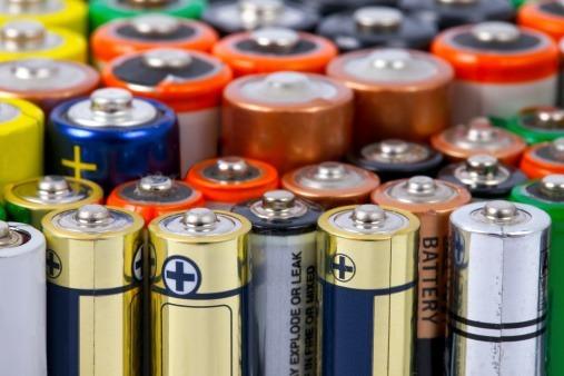 Range of batteries