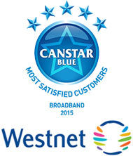 Broadband Award Winner 15': Westnet