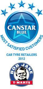 Most Satisfied Customers: Car Tyre Retailers - 2012