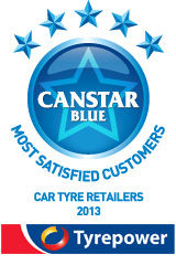 Most Satisfied Customers: Car Tyre Retailers - 2013