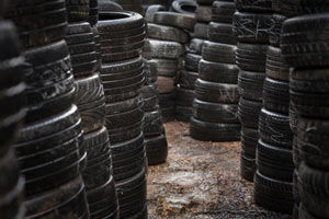Car Tyre Waste