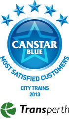 Most Satisfied Customers - City Trains, 2013