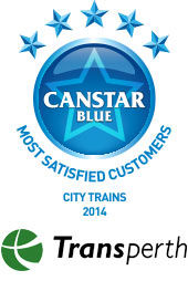 Most Satisfied Customers - City Trains, 2014