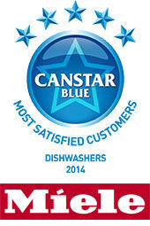 Most Satisfied Customers - Dishwashers, 2014