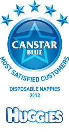 Most Satisfied Customers Award for Disposable Nappies - 2012