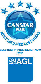 Most Satisfied Customers - New South Wales Electricity Providers