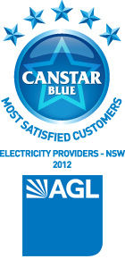 Most Satisfied Customers 2012: NSW Electricity Providers