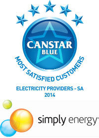 Simply Energy: 2014 SA electricity provider award winners