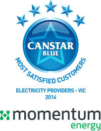 Momentum Energy: 2014 electricity award winners in Victoria