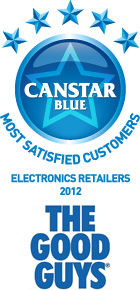 Most Satisfied Customers for Electronics Retailers: 2012