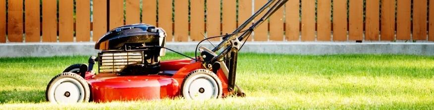 lawnmower banner