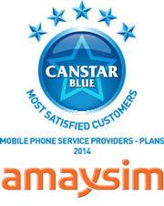 amaysim: 2014 award winner for phone plan providers
