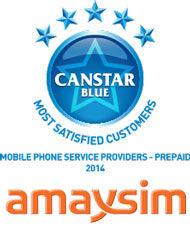 amaysim: 2014 award winner for prepaid phone plans