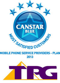 Most Satisfied Customers Award for Mobile Phone Plan Providers - 2013