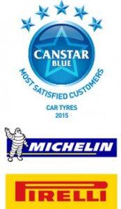 Pirelli & Michelin: Car Tyre Winners of 2015