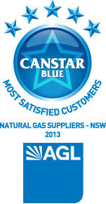 Most Satisfied Customers for New South Wales Natural Gas Suppliers: 2013