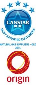 Origin: QLD Natural Gas Supplier Award Winners