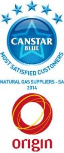 Origin: SA Natural Gas Supplier Award Winners