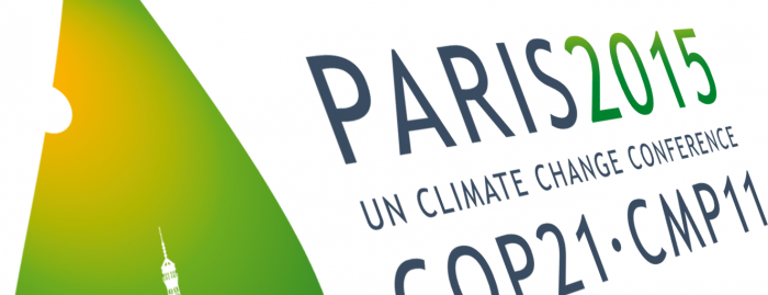 paris climate talks banner