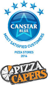 Most Satisfied Customers - Pizza Stores, 2014